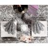 Kép 6/7 - Papírszalvéta 40x40 cm 3 réteg Cascade szürke