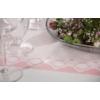 Kép 3/5 - Asztali futó 40 cm x 24 m textilhatású Mandy - púderrózsa