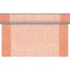 Kép 1/6 - Asztali futó 40 cm x 24 m textilhatású Mailand - terrakotta