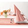 Kép 3/6 - Asztali futó 40 cm x 24 m textilhatású Mailand - terrakotta