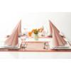 Kép 5/6 - Asztali futó 40 cm x 24 m textilhatású Mailand - terrakotta