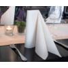 Kép 3/3 - Asztali futó 40 cm x 24 m textilhatású Mailand - világosbarna