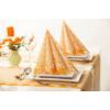 Kép 3/4 - Textilhatású szalvéta 40x40 cm Mandy – curry - 69971