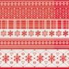 Kép 2/2 - Karácsonyi szalvéta 40x40 cm Martha - piros