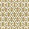 Kép 1/3 - Asztali futó 40 cm x 24 m textilhatású Vera - fehér/arany