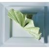 Kép 8/10 - Textilhatású szalvéta 40x40 cm Delia - zöld - 88310