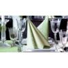 Kép 10/10 - Textilhatású szalvéta 40x40 cm Delia - zöld - 88310