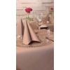 Kép 3/3 - Textilhatású szalvéta 40x40 cm - cappucino