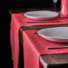 Kép 4/4 - Asztali futó 40 cm x 48 m Newtex - piros