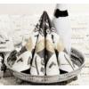 Kép 1/2 - Textilhatású Szilveszteri szalvéta 40x40 cm New Year - fekete