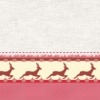 Kép 2/2 - Mikrotextil hatású szalvéta 40x40 cm Klaus - piros