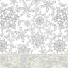 Kép 1/2 - Mikrotextil hatású szalvéta 40x40 cm Etoile - ezüst