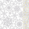 Kép 2/2 - Mikrotextil hatású szalvéta 40x40 cm Etoile - ezüst