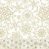 Kép 2/2 - Mikrotextil hatású szalvéta 40x40 cm Etoile - arany