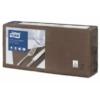 Kép 1/4 - Tissue szalvéta 3 rétegű 33x33 cm Tork barna