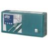 Kép 1/4 - Tissue szalvéta 3 rétegű 33x33 cm Tork kékeszöld