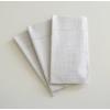 Kép 2/2 - Textilhatású 1/8 hajtású evőeszköztartós szalvéta 40x32 cm Gama Hilo - krém