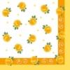 Kép 6/6 - Textilhatású szalvéta 40x40 cm Rosita - sárga