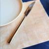 Kép 1/3 - Mikropunto szalvéta 40x40 cm Szahara - krém