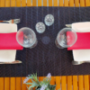 Kép 2/4 - Asztali futó 40 cm x 48 m Line - fekete