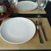 Kép 2/5 - Újrahasznosított papírból készült tányéralátét 30 cm x 40 cm-es