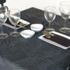 Kép 3/4 - Asztali futó 40 cm x 48 m Line - fekete
