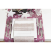 Kép 3/4 - Textilhatású szalvéta 40x40 cm Steven - világosbarna - 89002