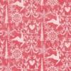 Kép 2/2 - Textilhatású szalvéta 48×48 cm Bob - piros
