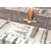Kép 2/2 - Futó 40x24 m textilhatású Jingle kréta