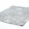 Kép 4/6 - Textilhatású szalvéta 40x40 cm Steven - ezüstszürke - 89004