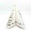 Kép 2/6 - Textilhatású szalvéta 40x40 cm San silvestro ezüst/fekete/arany - 89015