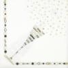 Kép 5/6 - Textilhatású szalvéta 40x40 cm San silvestro ezüst/fekete/arany - 89015