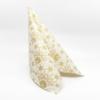 Kép 2/5 - Karácsonyi textilhatású szalvéta 40x40 cm Saphira - krém/arany - 95032