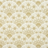 Kép 5/5 - Karácsonyi textilhatású szalvéta 40x40 cm Saphira - krém/arany - 95032