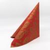 Kép 1/5 - Textilhatású szalvéta 40x40 cm Michael - piros/arany - 89012
