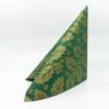 Kép 1/6 - Textilhatású szalvéta 40x40 cm Michael - zöld/arany - 90777