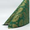 Kép 4/6 - Textilhatású szalvéta 40x40 cm Michael - zöld/arany - 90777