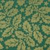 Kép 5/6 - Textilhatású szalvéta 40x40 cm Michael - zöld/arany - 90777