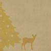 Kép 6/6 - Textilhatású szalvéta 40x40 cm Újrahasznosított X-mas - natúrbarna - 92466
