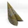 Kép 1/5 - Karácsonyi textilhatású szalvéta 40x40 cm Mick - arany - 95241