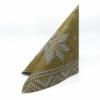 Kép 3/5 - Karácsonyi textilhatású szalvéta 40x40 cm Mick - arany - 95241
