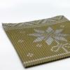 Kép 4/5 - Karácsonyi textilhatású szalvéta 40x40 cm Mick - arany - 95241