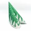 Kép 1/6 - Textilhatású szalvéta 40x40 cm Lennert - zöld/fehér - 92064