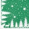 Kép 4/6 - Textilhatású szalvéta 40x40 cm Lennert - zöld/fehér - 92064