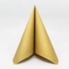 Kép 1/5 - Papírszalvéta 3 rétegű 33x33 cm arany - 88955