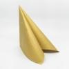 Kép 2/5 - Papírszalvéta 3 rétegű 33x33 cm arany - 88955