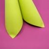 Kép 4/6 - Textilhatású szalvéta 40x40 cm - kiwi - 87518