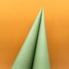 Kép 4/5 - Textilhatású szalvéta 40x40 cm - oliva zöld