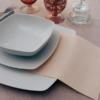 Kép 7/7 - Mikrotextil hatású szalvéta 40x40 cm Tinta Unita - pasztell krém