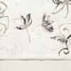 Kép 6/6 - Mikrotextil hatású szalvéta 40x40 cm Nancy fehér/fekete - 6403830